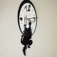 cat scratch clock_1